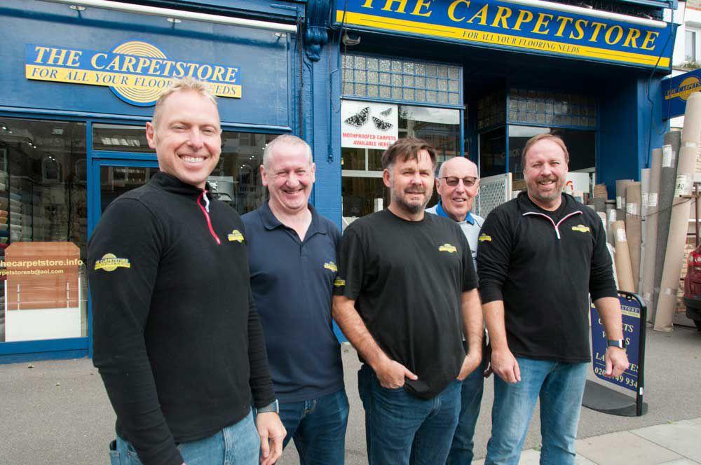 Carpets, Clay Miller, Hammersmith Locals, Joe Miller, Rugs, Shepherd's Bush, The Carpetstore, W12