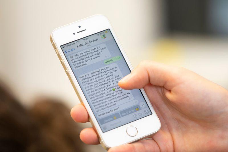 ie Testversion ist unter dem Nutzernamen oekobot beim Messenger-Dienst Telegram zu finden