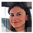 Anna Banicevic – Porträt für Tagesspiegel Background