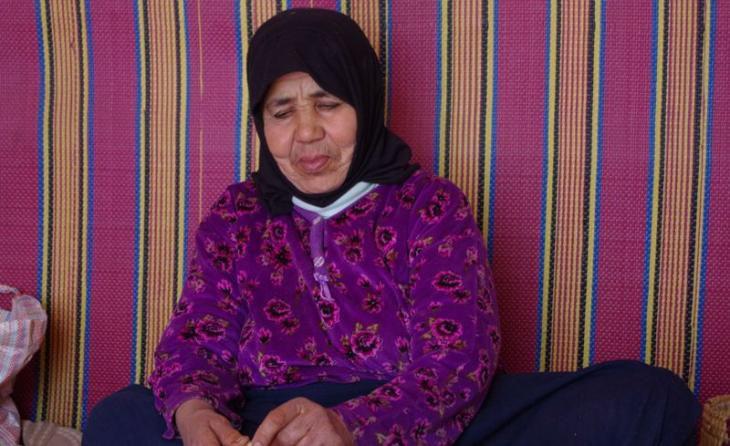Berberfrau im lndlichen Marokko Foto Claudia Mende