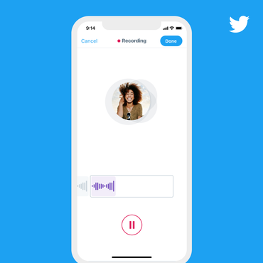 Twitter launches voice tweets for iOS