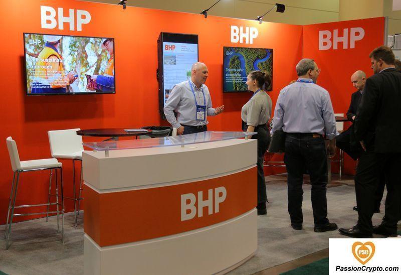 La plus grande société minière du monde, BHP Group Conclut Un Commerce De Minerai De Fer De 14 Millions De Dollars À L'aide De La Chaîne De Blocs