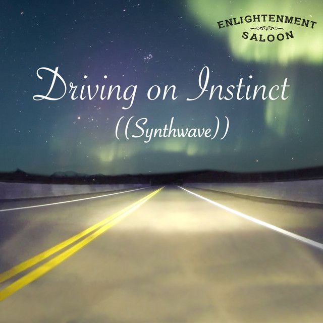 """Immerse yourselves in Enlightenment Saloon's latest ambient synthwave single """"Driving on Instinct"""""""