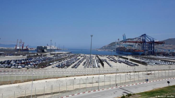 Erweiterter Hafen in Tanger Foto Reuters