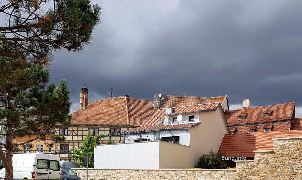 ☼ Wetter im August 2020: Gewittrig am Tag vor Vollmond
