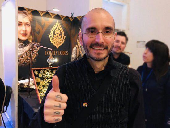 Forensiker und Tattoo-Fan Dr Mark Benecke auf der Tattoomenta 2019