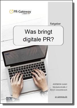 Was bringt digitale PR?