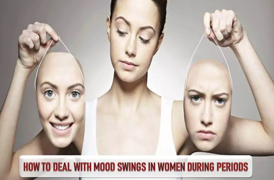 HOW TO DEAL WITH MOOD SWINGS IN WOMEN DURING PERIODS