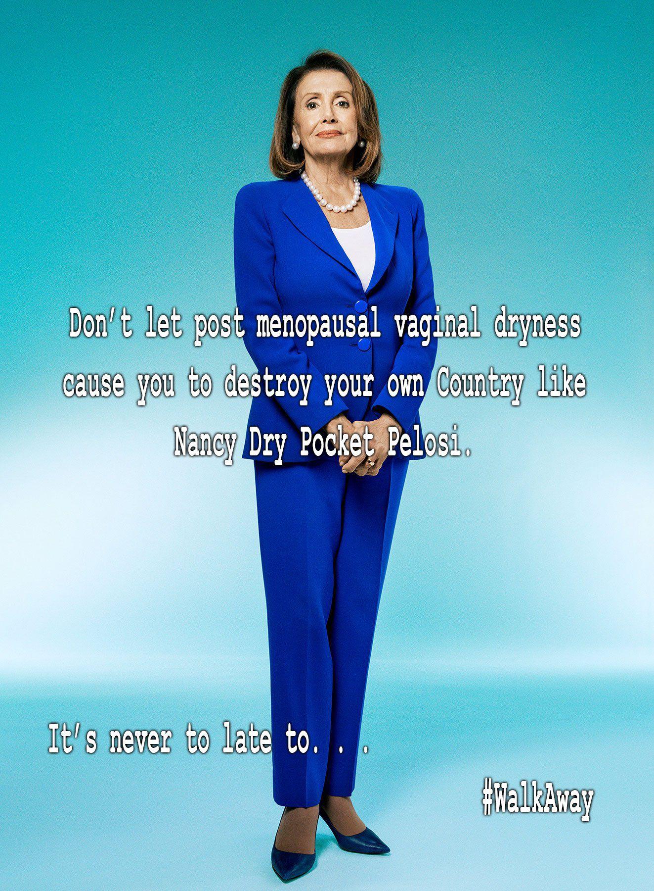 Nancy Dry Pocket Pelosi