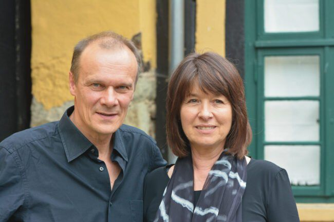 Zu Gast beim Via Nova Kunstfest Corvey: Edgar Selge und Franziska Walser, Schauspieler | (c) Ernst Ehlert