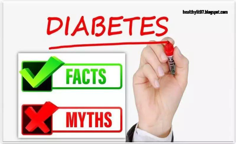 15 Common Myths And Facts About Diabetes