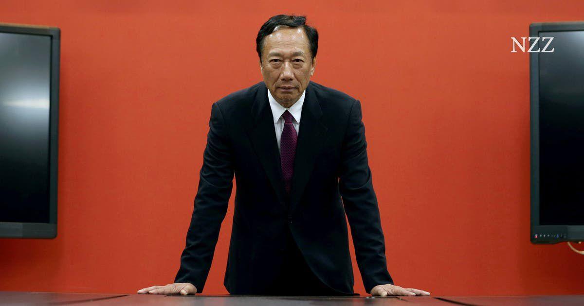 Foxconn-Chef Terry Gou will in Taiwan Präsident werden