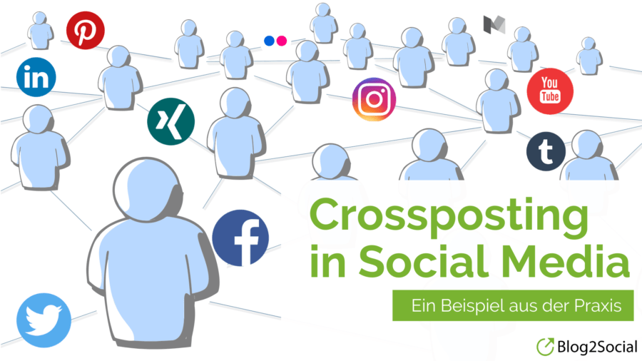Was ist Crossposting in Social Media?