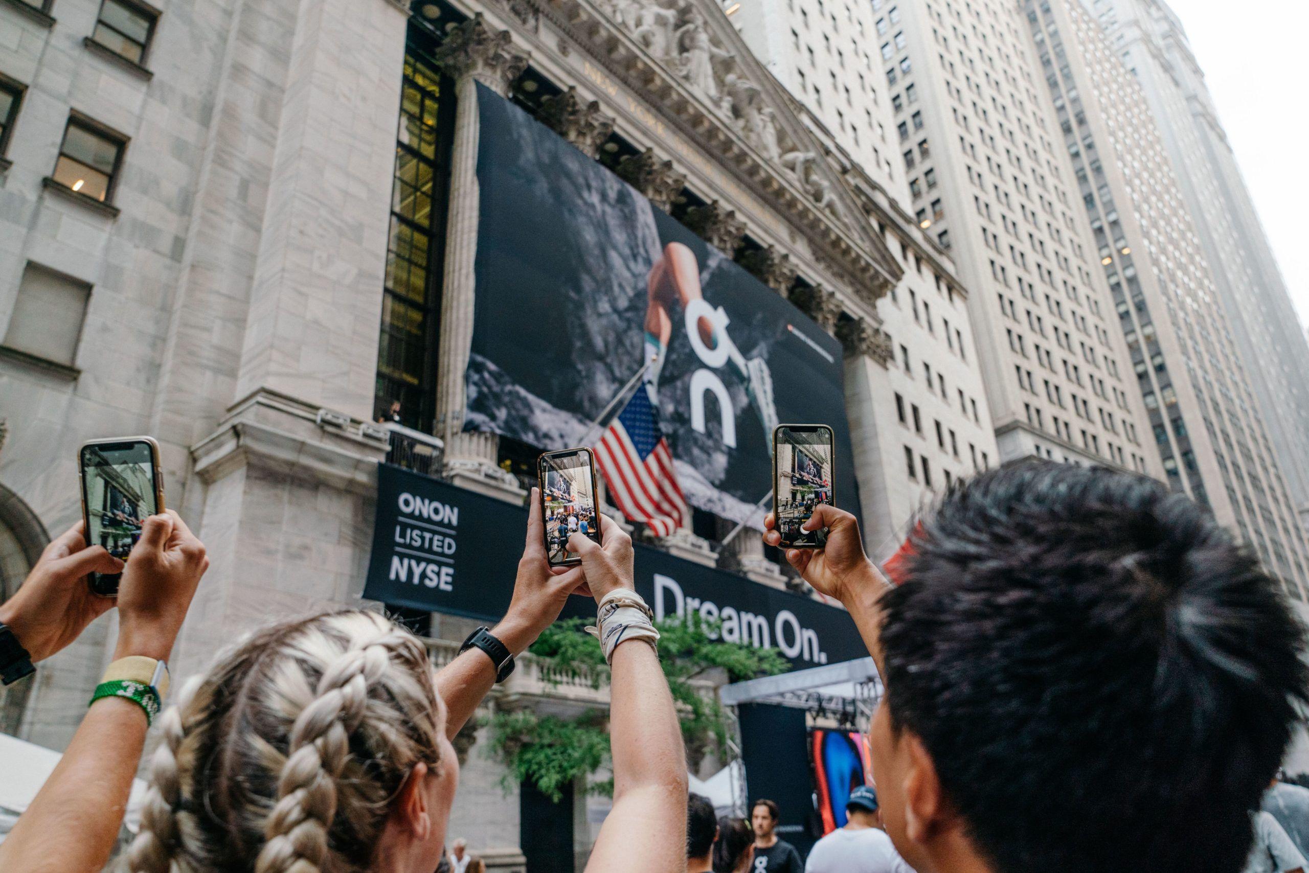 ON Running Börsengang. So schlägt sich die Aktie