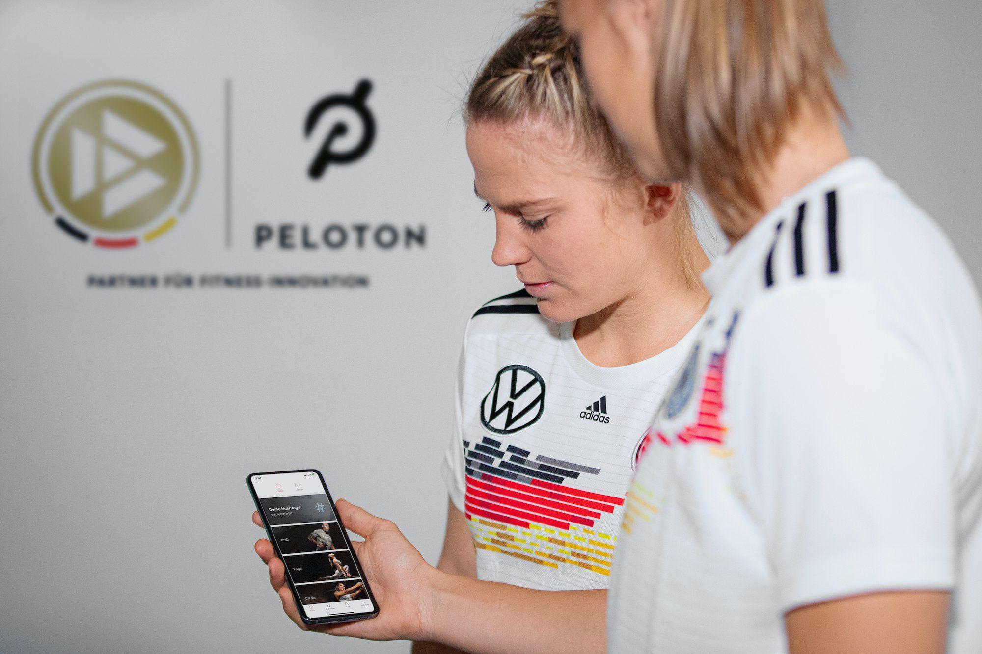 Kostenlos trainieren mit Peloton und der DFB-Akademie
