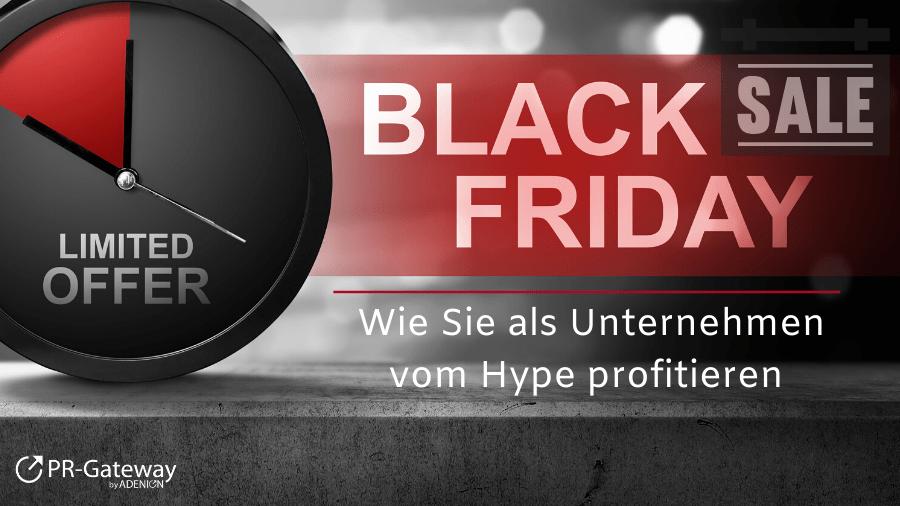 Black Friday - Wie Sie als Unternehmen vom Hype profitieren
