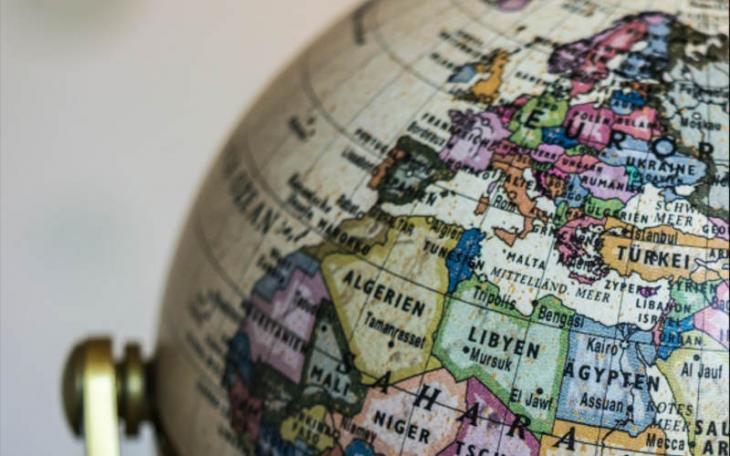 Ausschnitt Globus Mittelmeerlnder Quelle Abrahamisches Forum