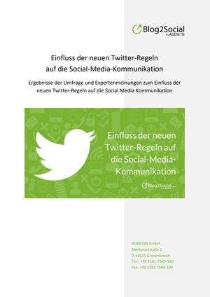 Umfrage: Wie beeinflussen die neuen Twitter-Regeln die Twitter-Kommunikation