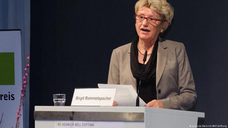 Die Psychologin und Genderforscherin Birgit Rommelspacher Foto Heinrich-Bll-Stiftung